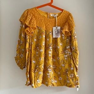 NWT Jessica Simpson floral top